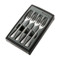 Robert Welch Malvern Bright Pastry Forks Set of 4